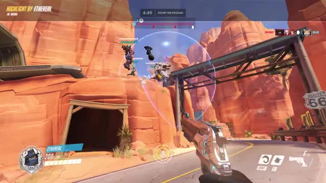 Watch and share Highlight GIFs and Overwatch GIFs by Cooper on Gfycat