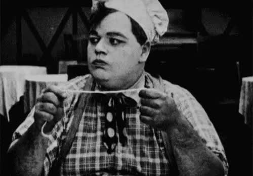 Watch and share MRW I See Buster Keaton Eating Spaghetti. GIFs on Gfycat