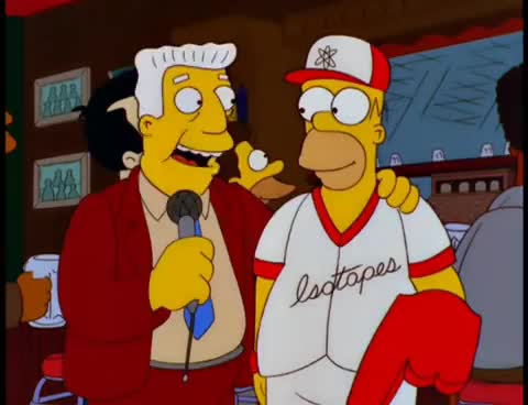 Watch and share The Simpsons Homer Bandwagon Fan Isotopes GIFs on Gfycat