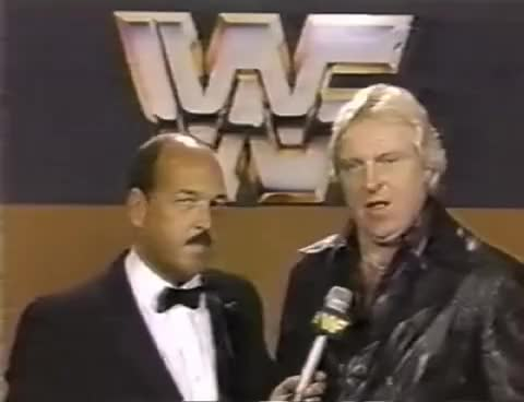 Watch and share Bobby Heenan Interview (November 1984) GIFs on Gfycat