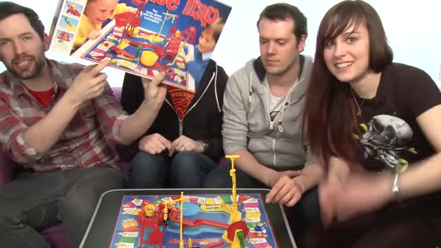 Watch Mouse Trap Game: OXtra and OXbox Play Mouse Trap - BEWARE THE TRAPPENING! GIF on Gfycat. Discover more mouse trap, mousetrap, outsidexbox GIFs on Gfycat