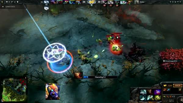 [ASUS ROG DreamLeague Season 1] EG.Arteezy Escapes vs. Team DOG (reddit)