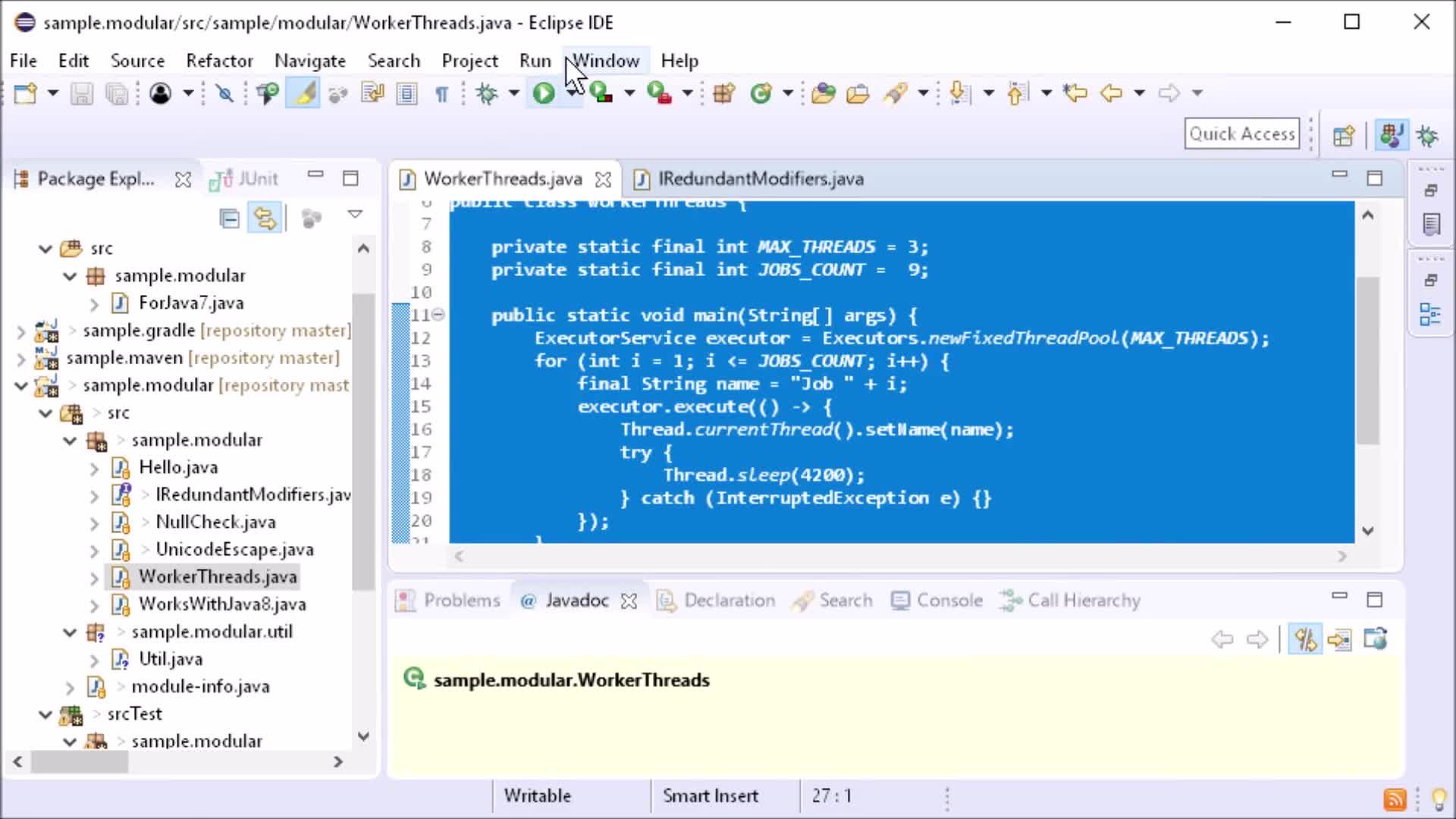 Eclipse Photon IDE Improvements Java And Maven