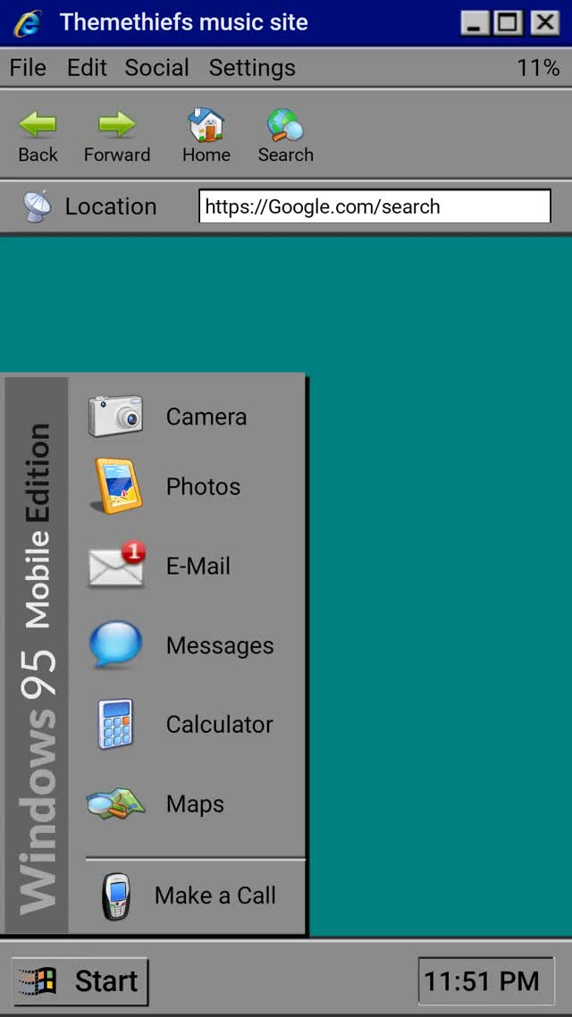 Watch and share Windows 95 Mobile Edition GIFs by ThemeThief on Gfycat