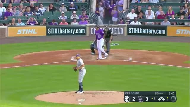 Watch Desmond bat flip GIF by efitz11 (@efitz111) on Gfycat. Discover more rockies GIFs on Gfycat