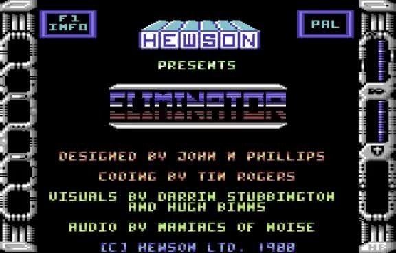Watch Eliminator Longplay (C64) [50 FPS] GIF on Gfycat. Discover more related GIFs on Gfycat