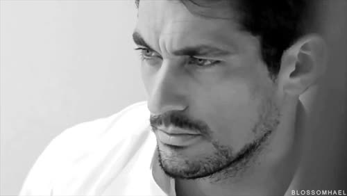 "Watch and share Blossomhael: ""DAVID GANDY David Gandy For Alistair Guy's WHITE SHIRTS Exhibition - 안움직이는 거 같죠? 움직여요 "" GIFs on Gfycat"