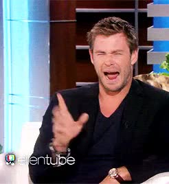 Watch and share Chris Hemsworth GIFs and Marvel Cast GIFs on Gfycat