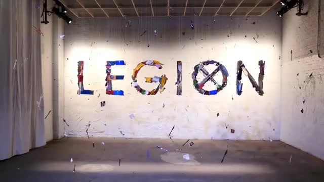 Watch and share This Legion Art Installation GIFs on Gfycat
