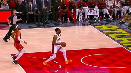 010619, Dwyane Wade and Derrick Jones Jr. — Miami Heat GIFs