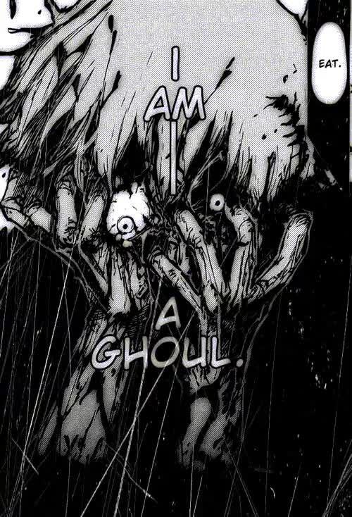 Watch and share Black And White GIFs and Tokyo Ghoul GIFs on Gfycat
