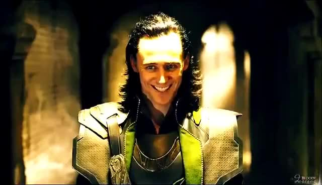 Watch and share ▶ Loki Laufeyson | Funny Moments [humor] GIFs on Gfycat