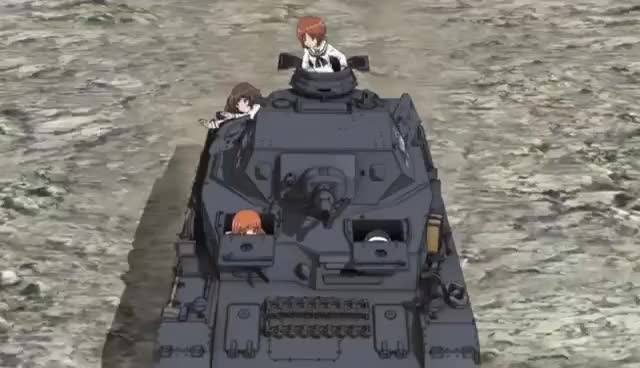 Watch and share Girls Und Panzer GIFs and Anime GIFs on Gfycat