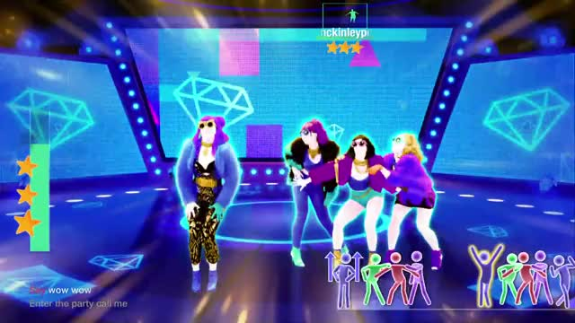 Just Dance 2019: Mi Mi Mi (Sassy) - Gold Move 1 GIF by