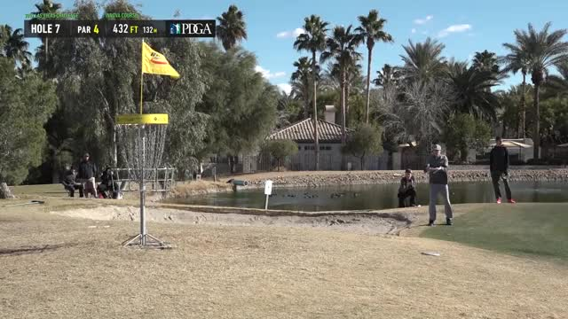 Watch 2019 LVC - Round 2 Corey Ellis hole 7 putt GIF by Benn Wineka UWDG (@bennwineka) on Gfycat. Discover more dgpt, dgwt, disc, disc golf, mcbeast, nate sexton, paul mcbeth, pdga, simon lizotte, tournament GIFs on Gfycat