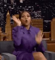 Watch this taraji p henson GIF by The GIF Smith (@sannahparker) on Gfycat. Discover more celebrate, excited, party, raise the roof, taraji p henson, the tonight show, yas, yay, yes GIFs on Gfycat