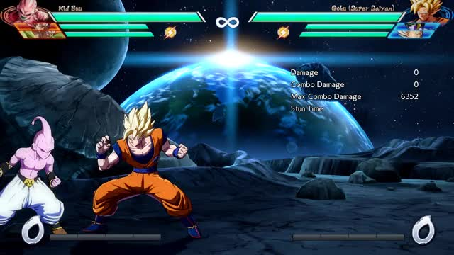 Watch and share Goku - Corner - 2M Into HKD (BnB) - 4548 Damage GIFs by robro on Gfycat