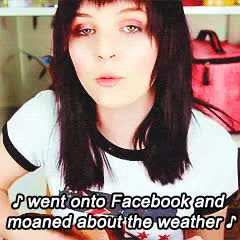 Watch this trending GIF on Gfycat. Discover more blackerytv, emma blackery, emmablackery, k GIFs on Gfycat