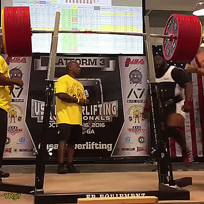 #yannireddit, SuperAthleteGifs, YRgif, Ray Williams squatted 1,005 pounds /456kg GIFs