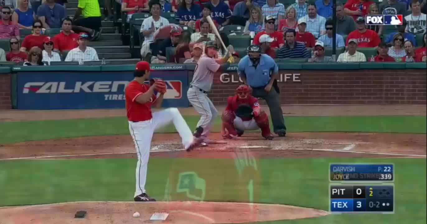 baseball, texasrangers, [#3, Joyce, 96 mph fastball]()  * Again, the glove. (reddit) GIFs