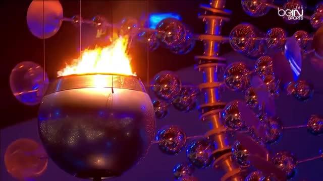 Watch Rio de Janeiro 2016 Olympic Lighting torch Opening Ceremonies - RIO Olympic Games 2016 GIF on Gfycat. Discover more lighting the olympic, lighting the olympic 2016, rio 2016 GIFs on Gfycat