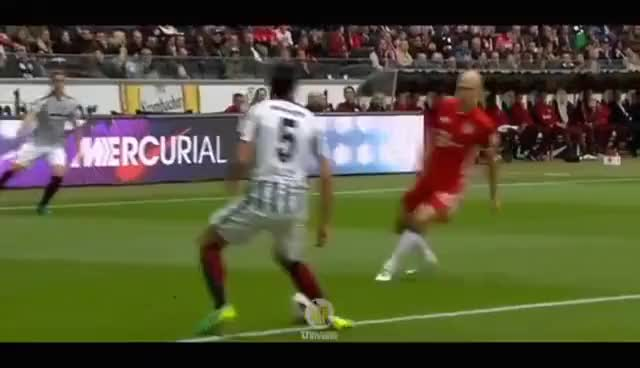 Watch and share Jesús Vallejo ● Eintracht Frankfurt ● Defensive Skills 2016/17 GIFs on Gfycat