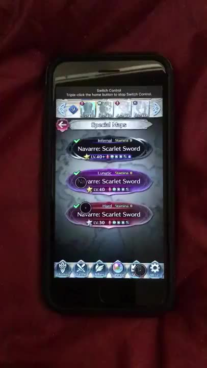 Watch and share IOS Switch Control For Unsupervised FEH HM Farming GIFs on Gfycat