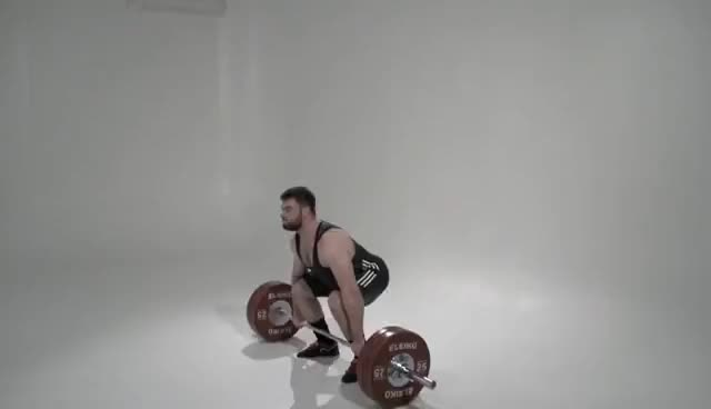 Watch CLEAN & JERK / Olympic weightlifting GIF on Gfycat. Discover more related GIFs on Gfycat