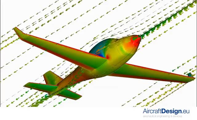 Watch and share Overall Aircraft Aerodynamics, CFD Simulation GIFs on Gfycat
