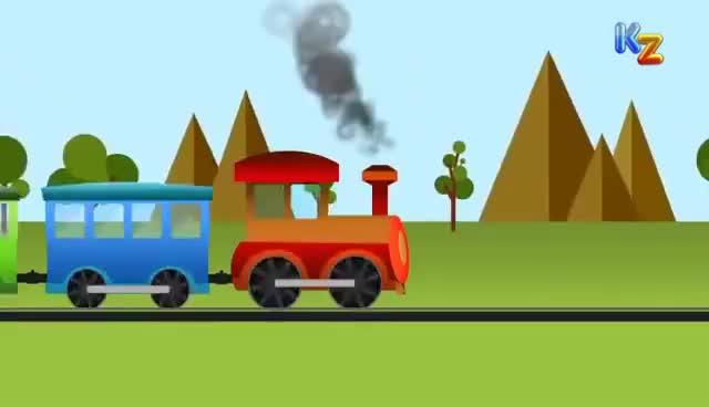 Watch and share Puff A Train | Animated Nursery Rhyme GIFs on Gfycat