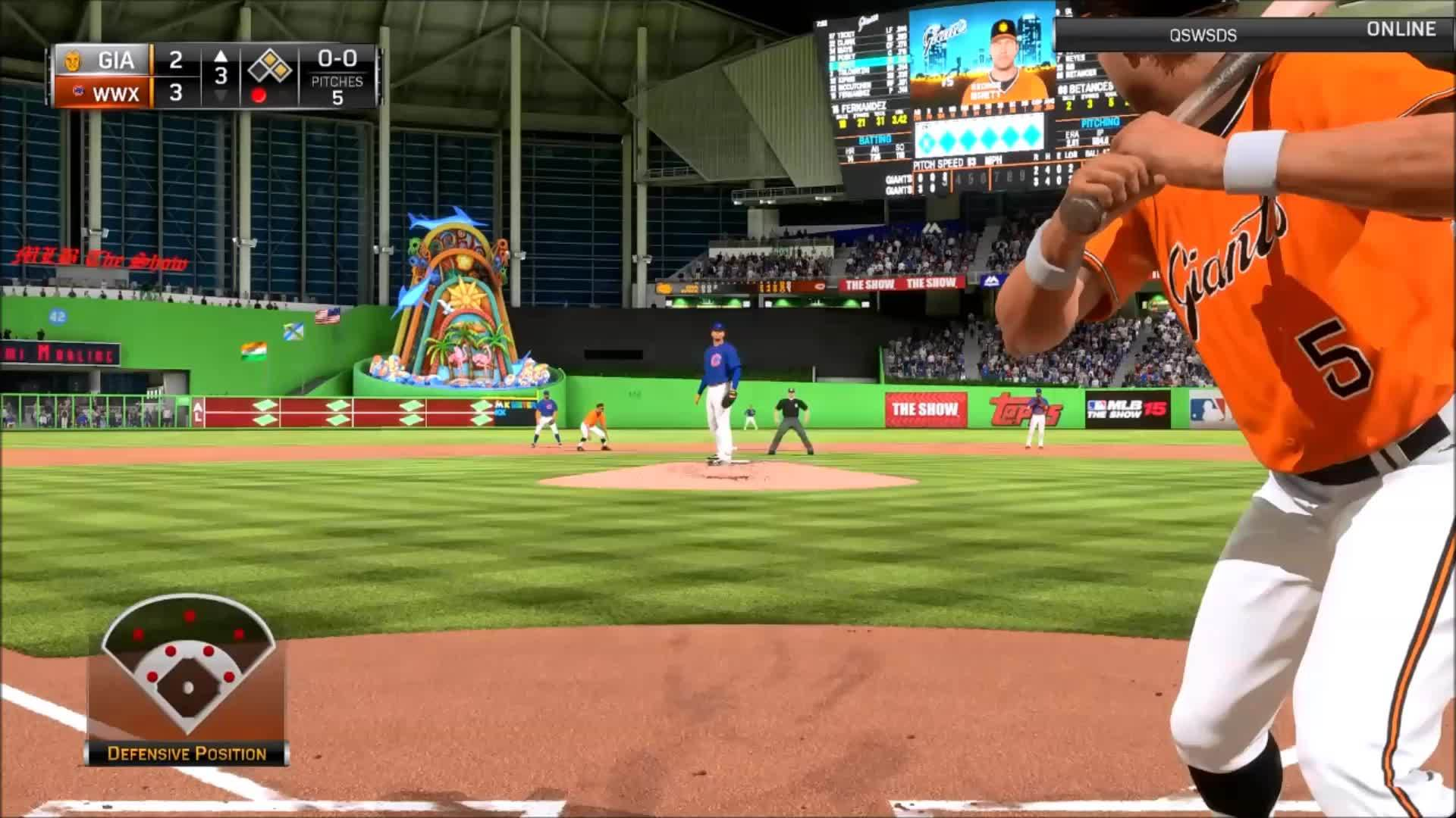 mlbtheshow, Star Player faces lefties - Betances faces righties GIFs