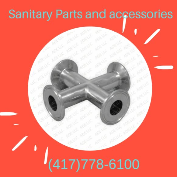Watch and share Sanitary Parts And Accessories GIFs by Triclamp on Gfycat