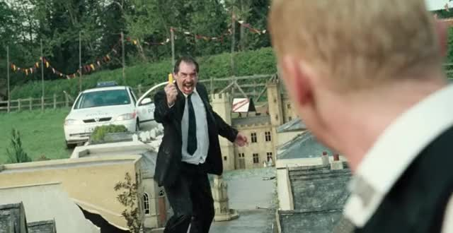 Watch and share Timothy Dalton GIFs and Simon Pegg GIFs by winstonchurchillin on Gfycat