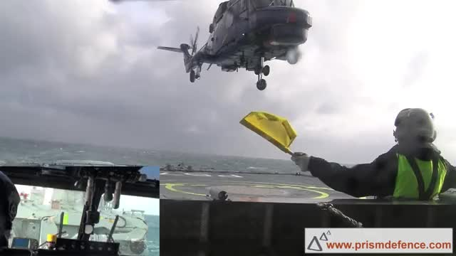 Watch and share Lynx Landing Danish Ship GIFs by tehroot on Gfycat