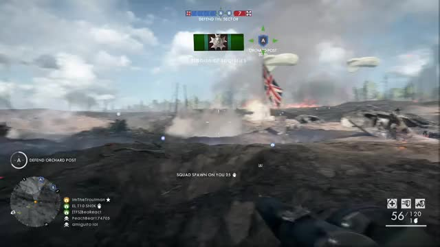 Watch this GIF by Gamer DVR (@xboxdvr) on Gfycat. Discover more Battlefield1, ImTheTroutman, battlefield one, xbox, xbox dvr, xbox one GIFs on Gfycat