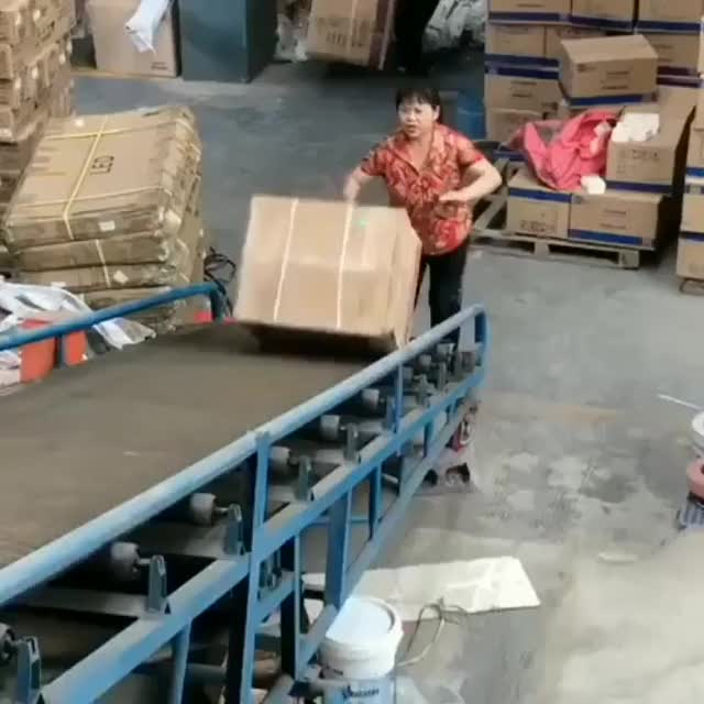 Watch and share Conveyor Belt GIFs and Box GIFs on Gfycat