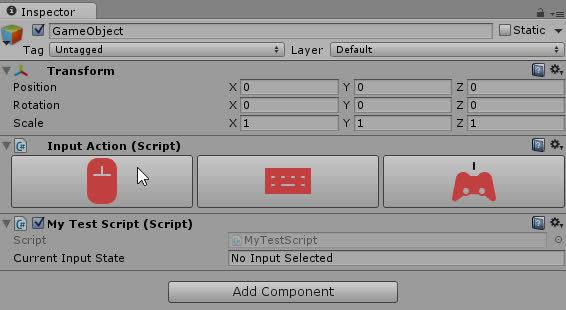 Unity3d Modular Input GIFs