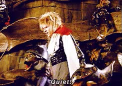 Watch and share Photoset Gif Gifs Movies King 80s Films 1980s David Bowie Labyrinth Magic Dance Jim Henson 1986 Goblin King B O W GIFs on Gfycat