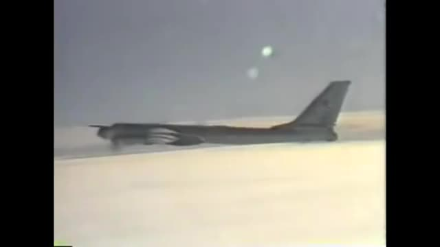 Watch and share Tu-95MS Intercept F-15s 1980s GIFs by tehroot on Gfycat