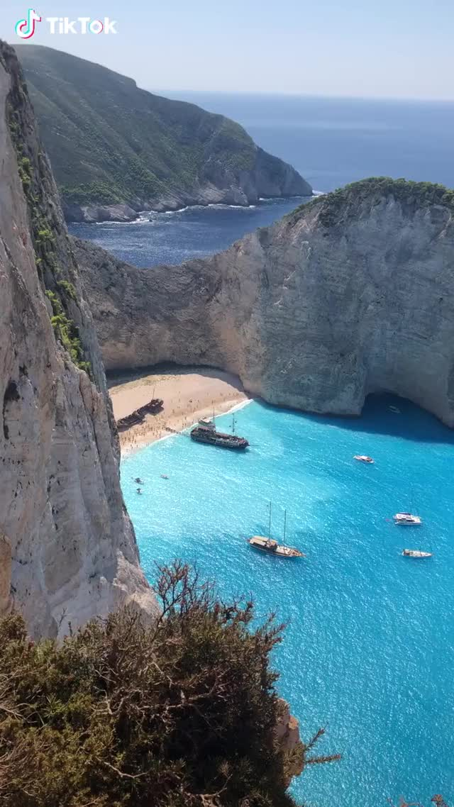 Watch and share Navagio,so Amazing A Place GIFs by TikTok on Gfycat