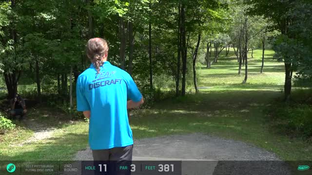 Watch and share 2017 Pittsburgh Flying Disc Open | Round 2, Back 9 | Goodpasture, Schultz, Johansen, Lizotte GIFs by Ultiworld Disc Golf on Gfycat