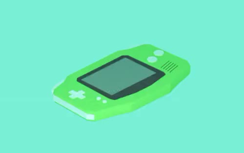 Watch and share Gameboy Advance GIFs and 3d Modelling GIFs on Gfycat