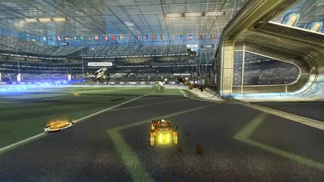 Watch and share Rocket League GIFs and Ceiling Shot GIFs by Chase McBride on Gfycat