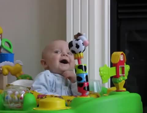 Watch Cute Baby! GIF on Gfycat. Discover more baby blow nose freak out laugh GIFs on Gfycat