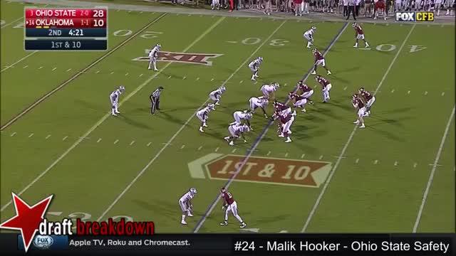 Watch and share Malik Hooker (Ohio State Safety) Vs Oklahoma GIFs on Gfycat