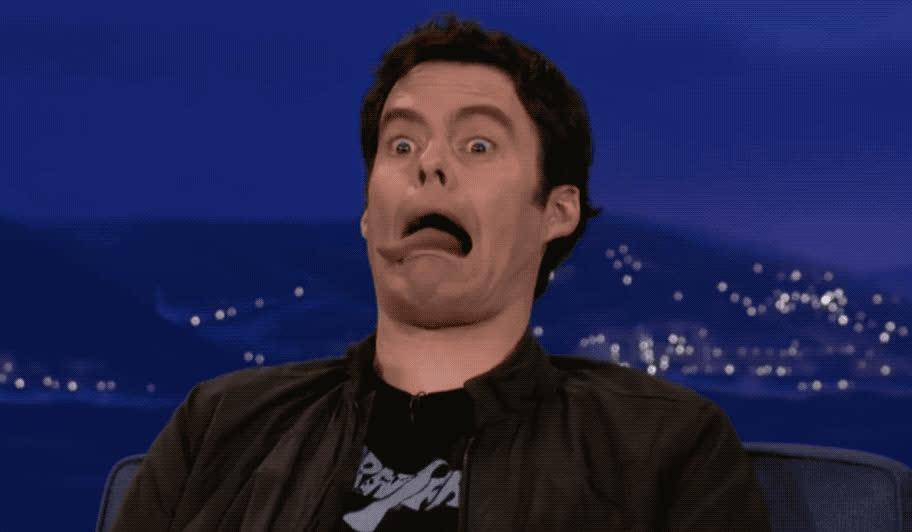bill, bill hader, dumb, face, funny, hader, impressions, snl, stupid, tongue, Bill Hader Impressions GIFs