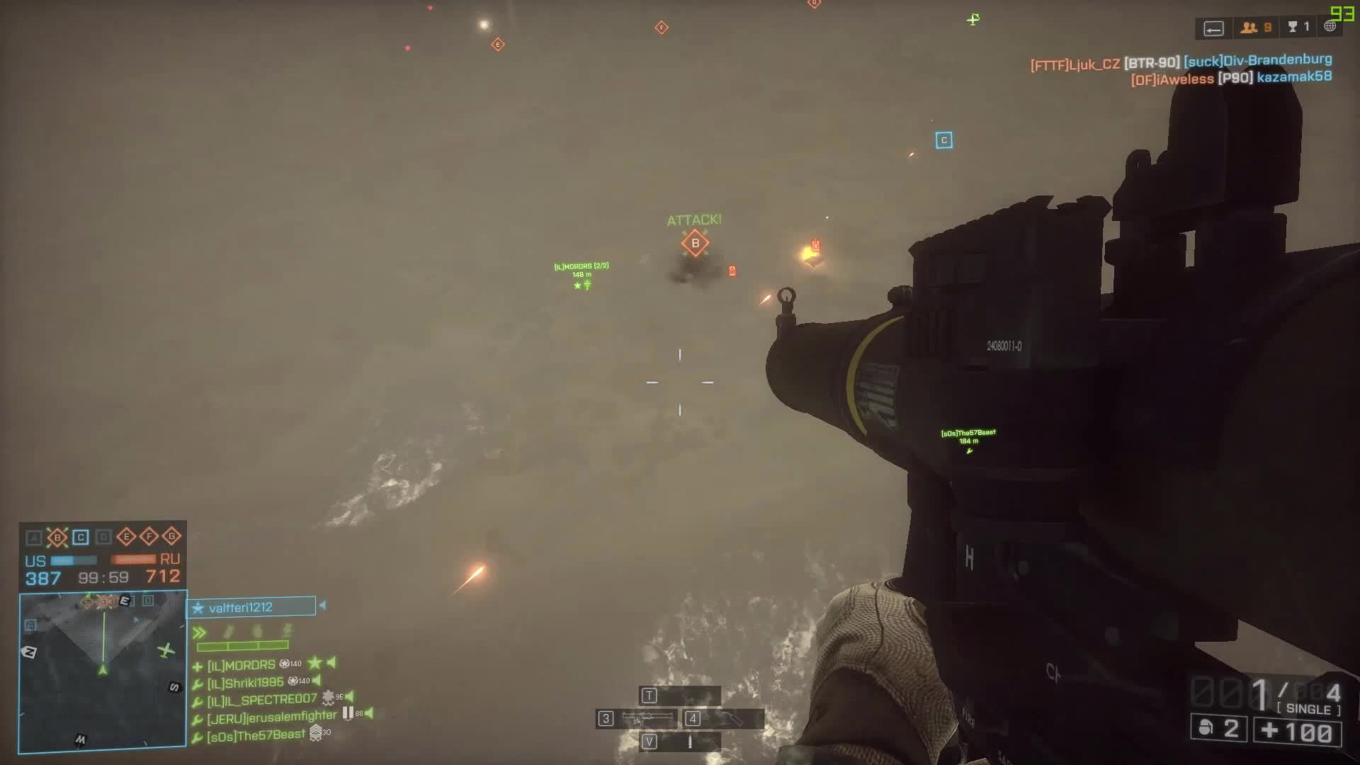 battlefield_4, parachute , Geting a 2 helicopters kills GIFs