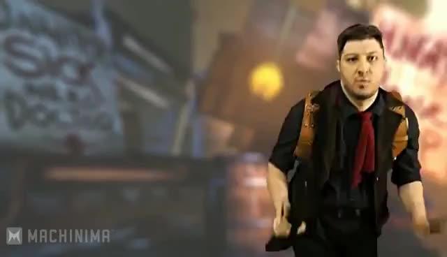dance, Bioshock Rapper guy GIFs