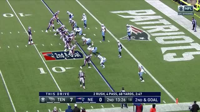 Watch and share 11 Brady To White 5yd TD.mov GIFs on Gfycat