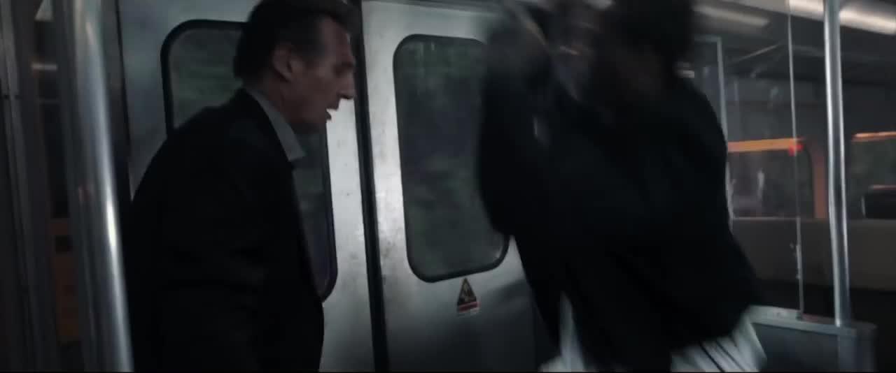 action, commuter, fight, lionsgate, movie, suspense, the commuter, Train fight GIFs